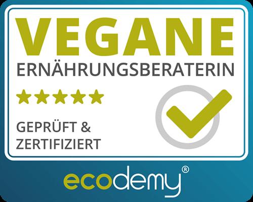Ecodemy vegane Ernährungsberaterin